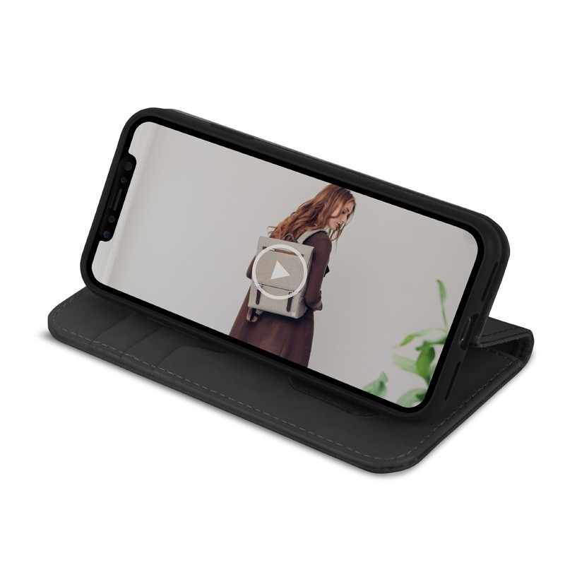 Moshi Overture iPhone X/Xs Wallet Charcoal Black - 5