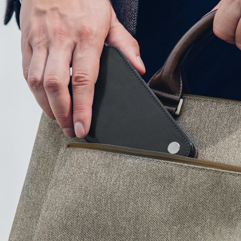 Moshi Overture iPhone X/Xs Wallet Charcoal Black - 7