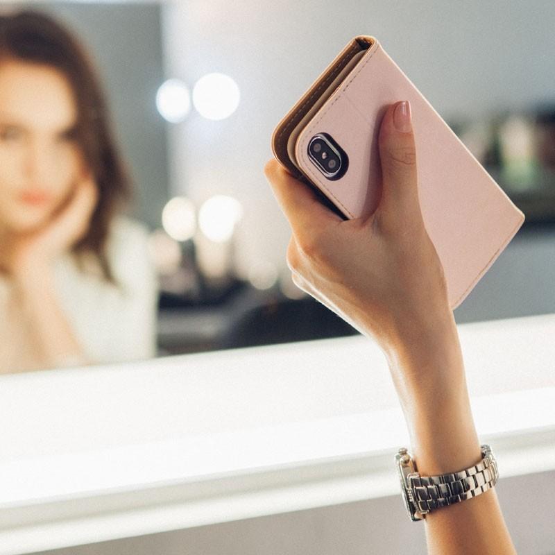 Moshi Overture iPhone X/Xs Wallet Luna Pink - 6