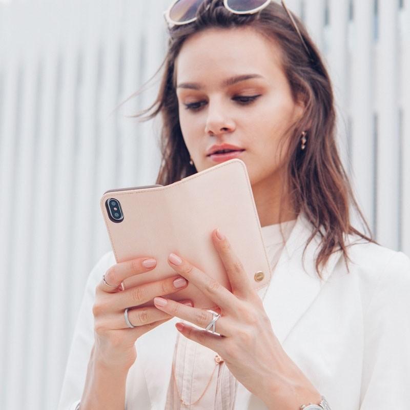 Moshi Overture iPhone X/Xs Wallet Luna Pink - 7