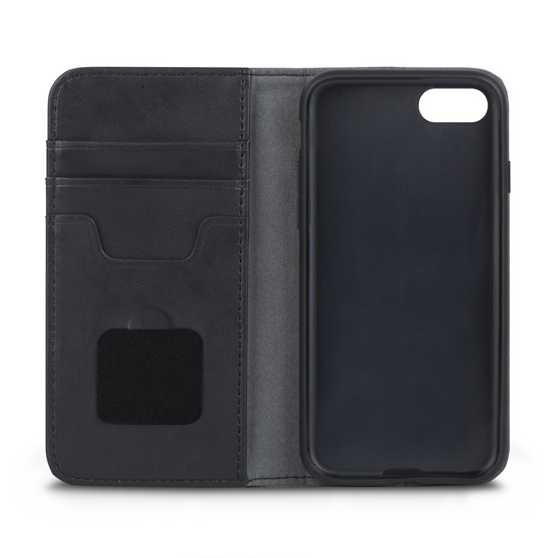 Moshi Overture Wallet iPhone 7 Charcoal Black - 3