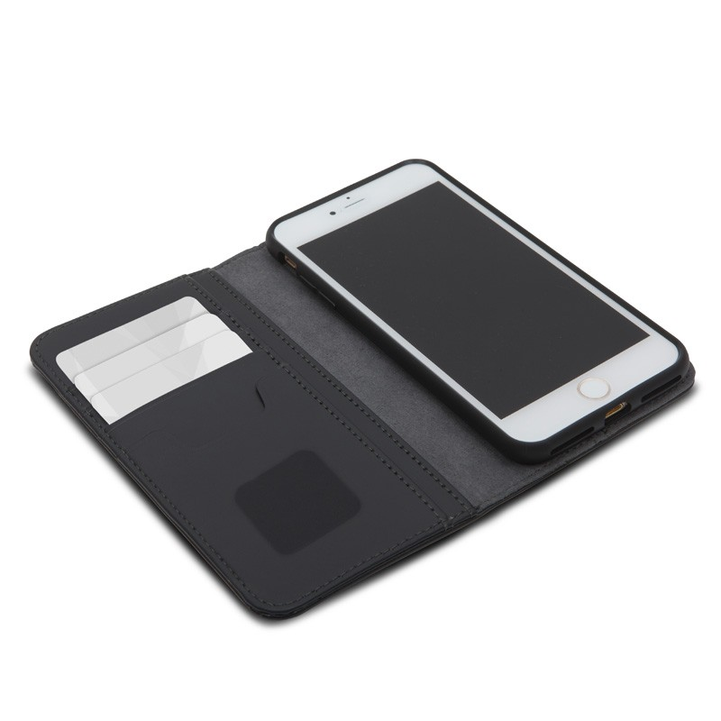Moshi Overture Wallet iPhone 7 Plus Charcoal Black - 3