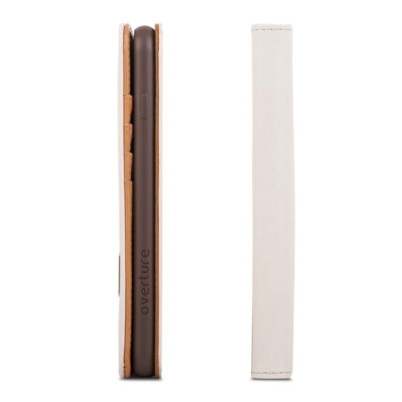 Moshi Overture Wallet iPhone 7 Plus Sahara White - 6