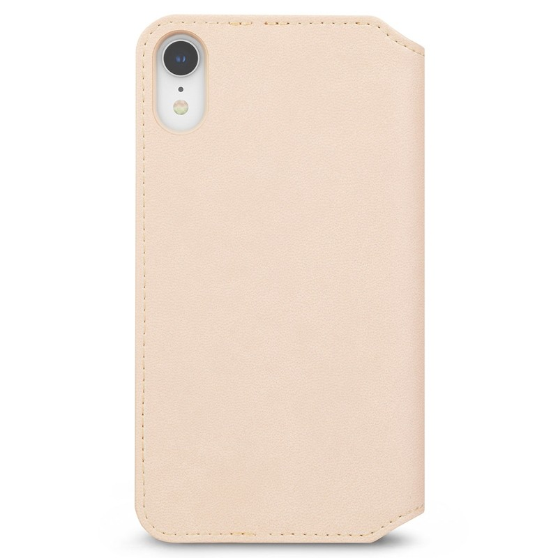 Moshi Overture Wallet Hoes iPhone XR Beige 04