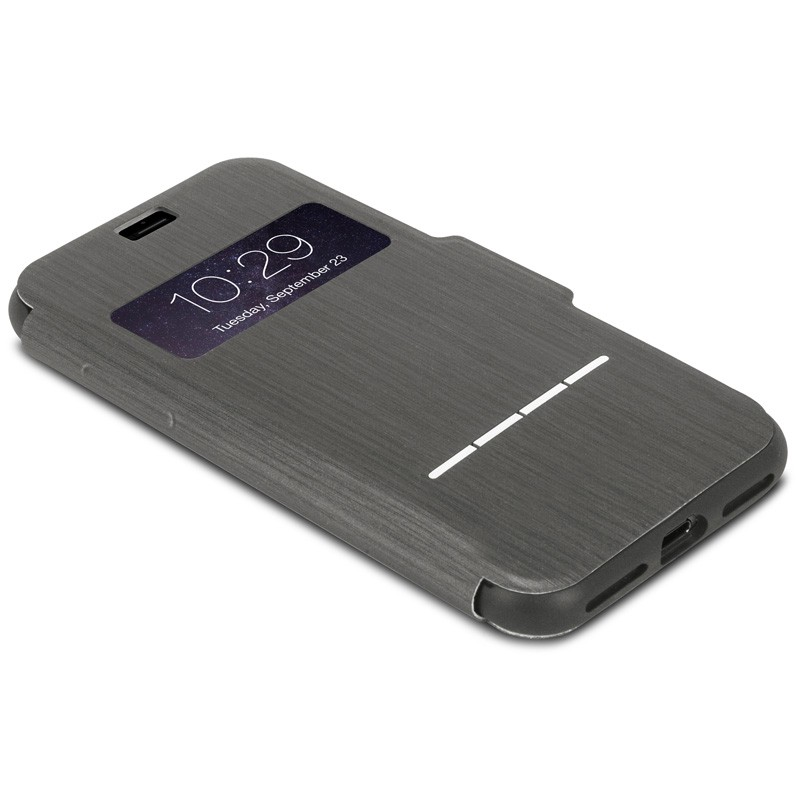 Moshi SenseCover iPhone 7 Plus Charcoal Black  - 3