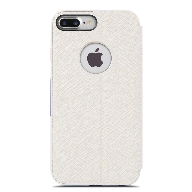 Moshi SenseCover iPhone 7 Plus Stone White  - 4