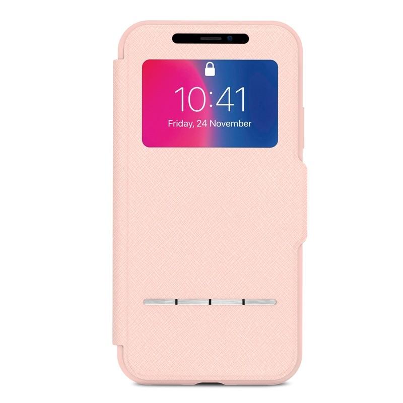 Moshi - SenseCover iPhone X/Xs Luna Pink - 1