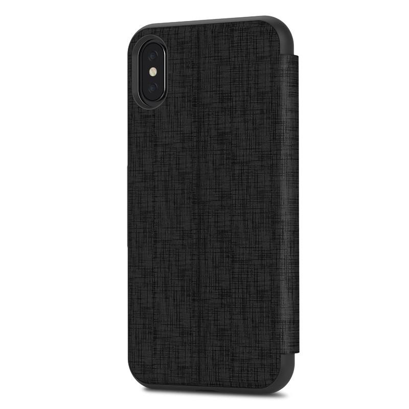 Moshi - SenseCover iPhone X/Xs Metro Black - 4