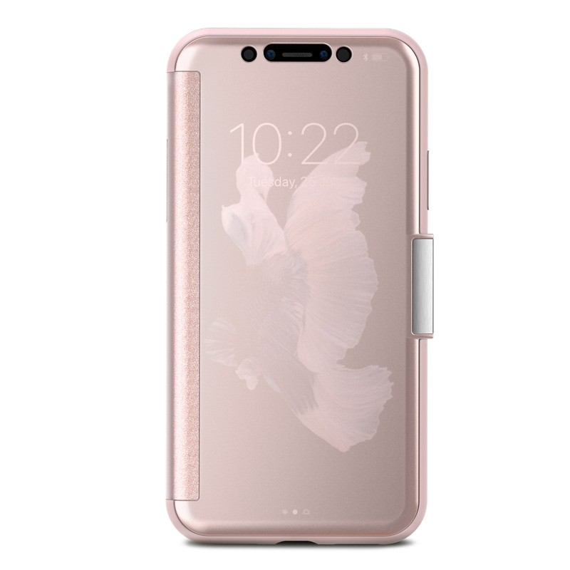 Moshi Stealthcover iPhone X/Xs Champagne Pink - 1