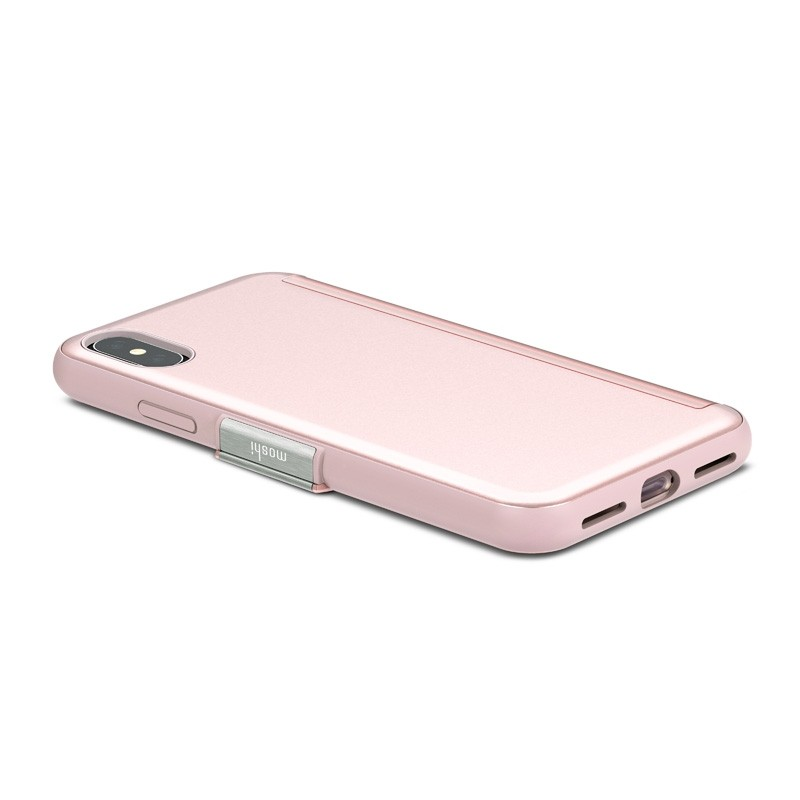 Moshi Stealthcover iPhone X/Xs Champagne Pink - 3