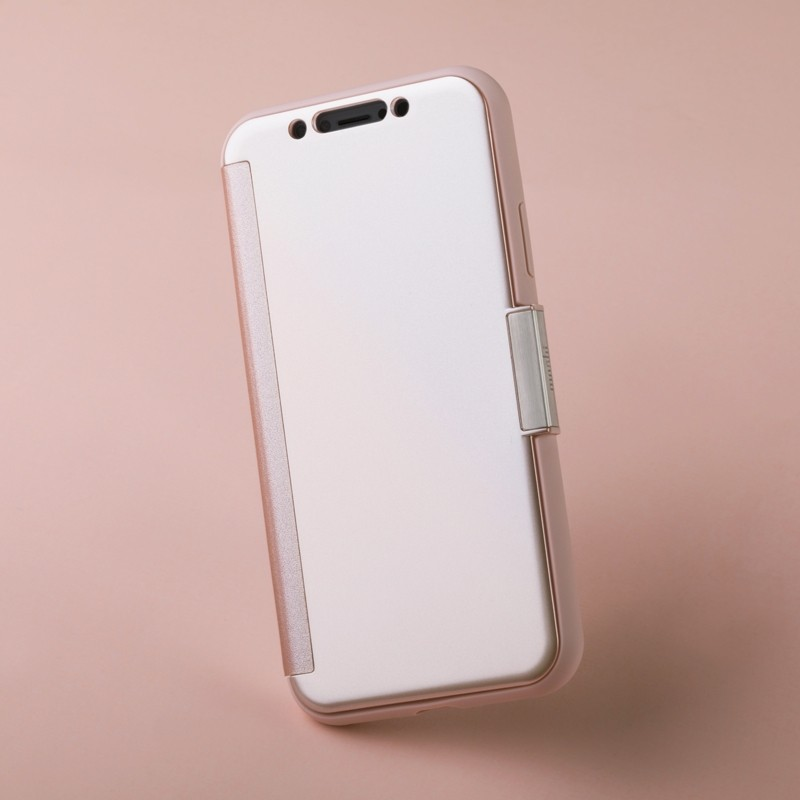 Moshi Stealthcover iPhone X/Xs Champagne Pink - 9