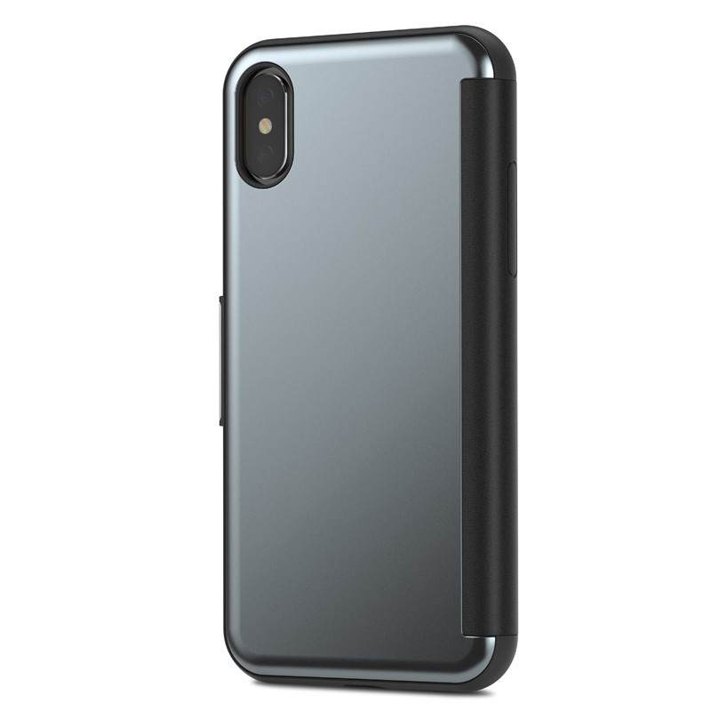 Moshi Stealthcover iPhone X/Xs Gunmetal Gray - 2