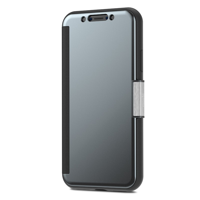 Moshi Stealthcover iPhone X/Xs Gunmetal Gray - 4