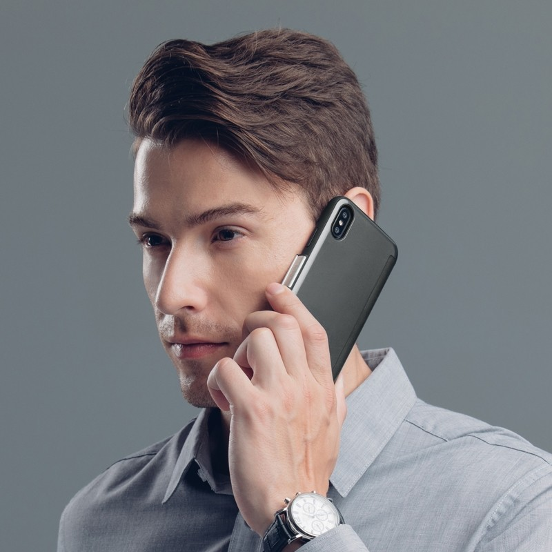 Moshi Stealthcover iPhone X/Xs Gunmetal Gray - 7