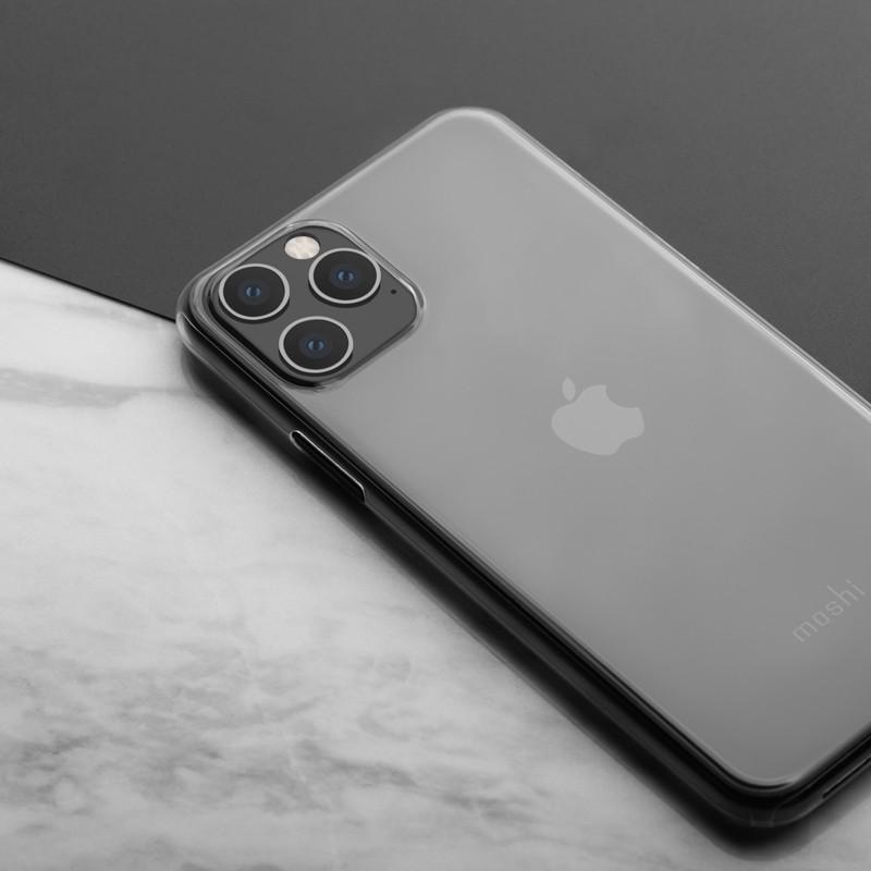 Moshi SuperSkin iPhone 11 Pro Hoesje Matte Clear - 6