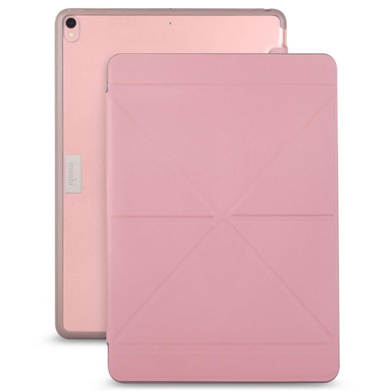 Moshi VersaCover iPad Air 10.5 (2019), iPad Pro 10.5 inch Roze Transparant 01