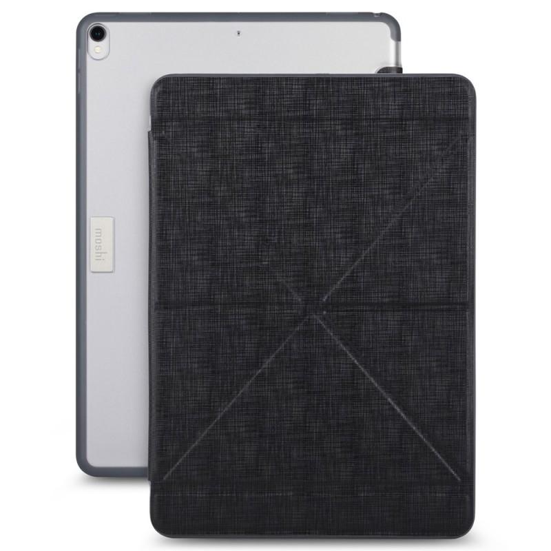 Moshi VersaCover iPad Air 10.5 (2019), iPad Pro 10.5 inch Zwart Transparant 01