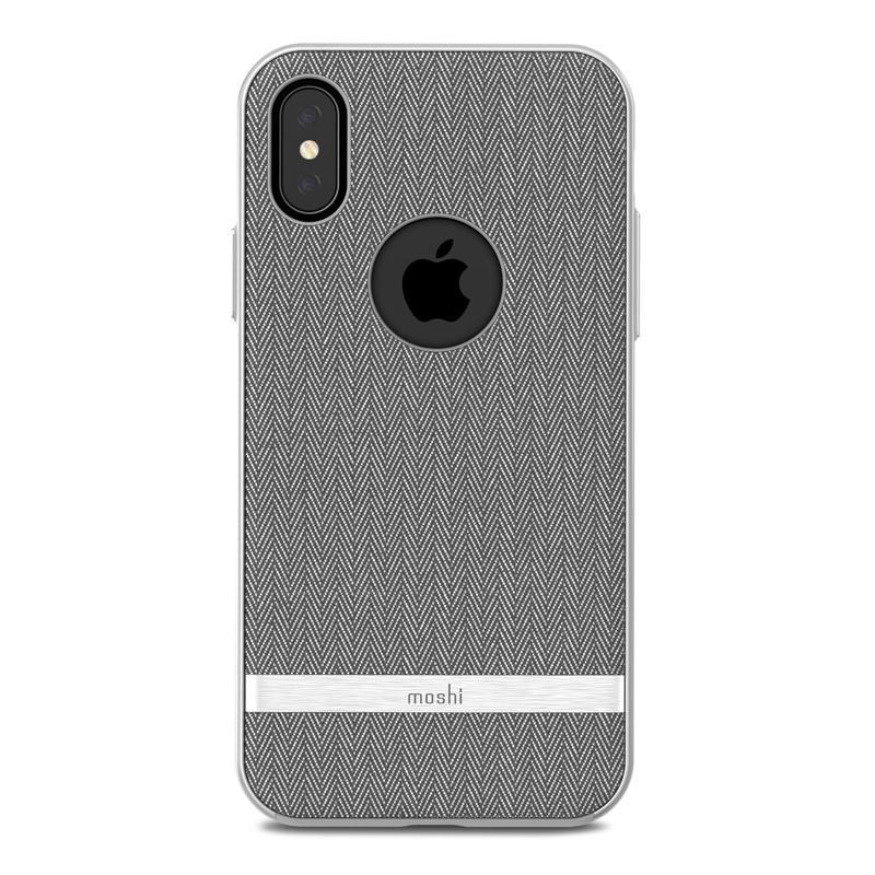 Moshi Vesta iPhone X/Xs Herringbone Gray - 2