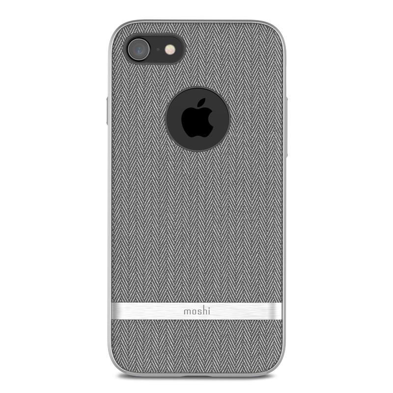Moshi Vesta iPhone 8 Plus/7 Plus Herringbone Grey - 1