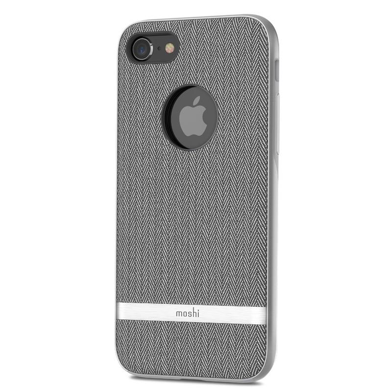 Moshi Vesta iPhone 8 Plus/7 Plus Herringbone Grey - 4