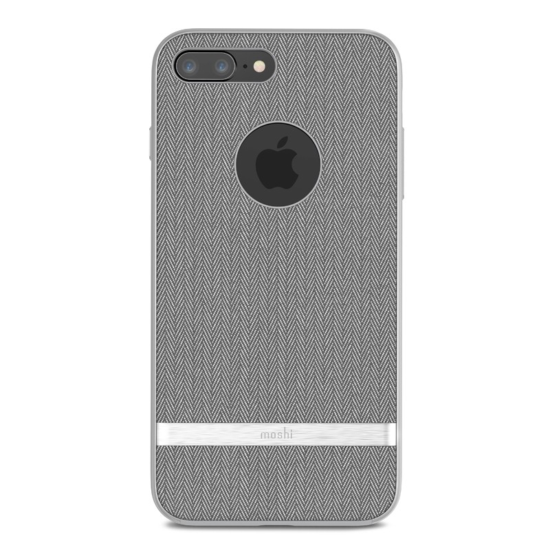 Moshi Vesta iPhone 8 Plus/7 Plus Herringbone Grey - 1