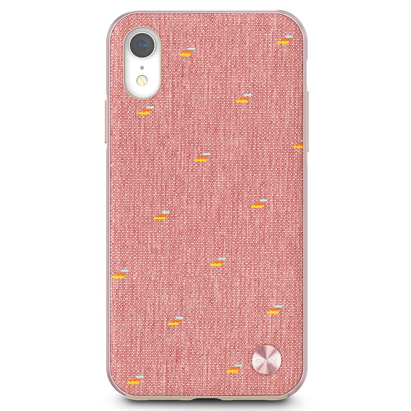 Moshi Overture Wallet Hoes iPhone XR Macaron Pink 01