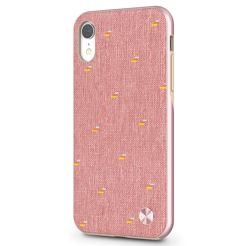 Moshi Overture Wallet Hoes iPhone XR Macaron Pink 02