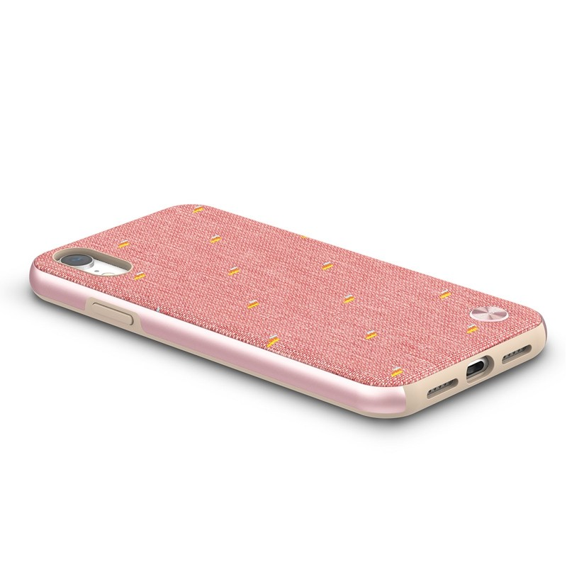Moshi Overture Wallet Hoes iPhone XR Macaron Pink 03