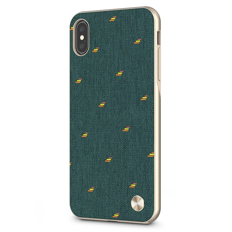 Moshi Vesta iPhone XS Max Hoesje Emerald Green 02