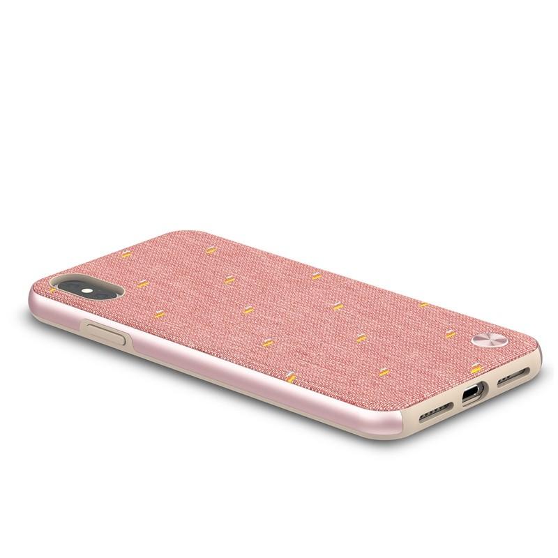 Moshi Vesta iPhone XS Max Hoesje Marcaron Pink 04