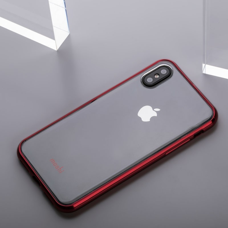 Moshi Vitros iPhone X/Xs Crimson Red - 6