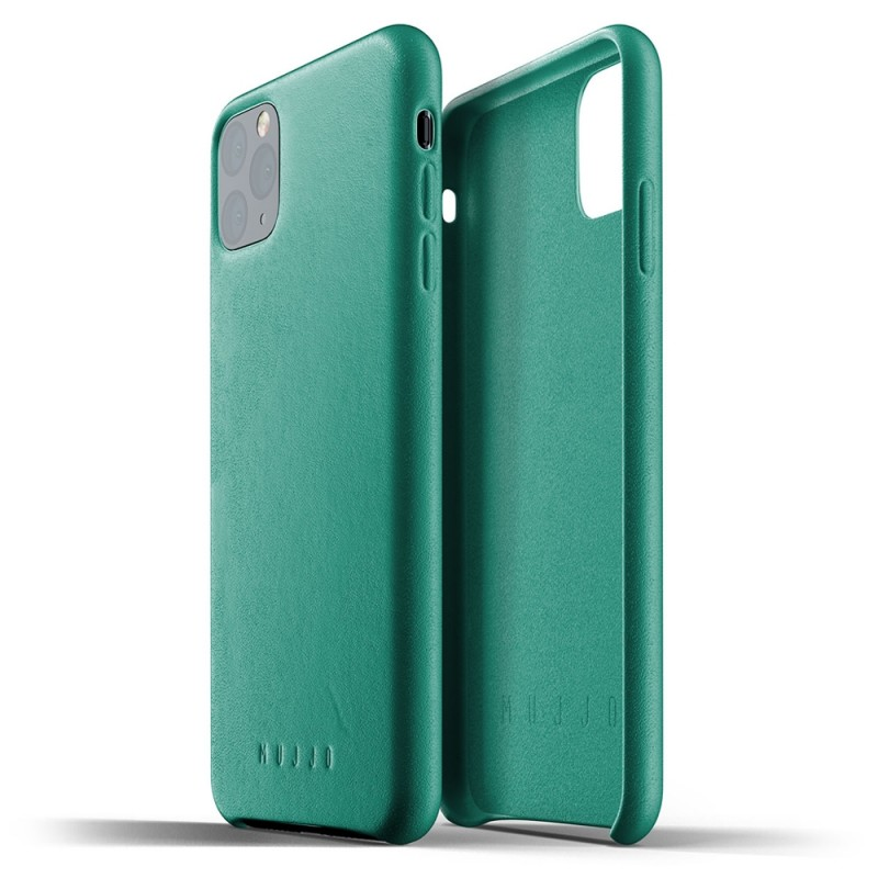 Mujjo Full Leather Case iPhone 11 Pro Max alpine green - 2