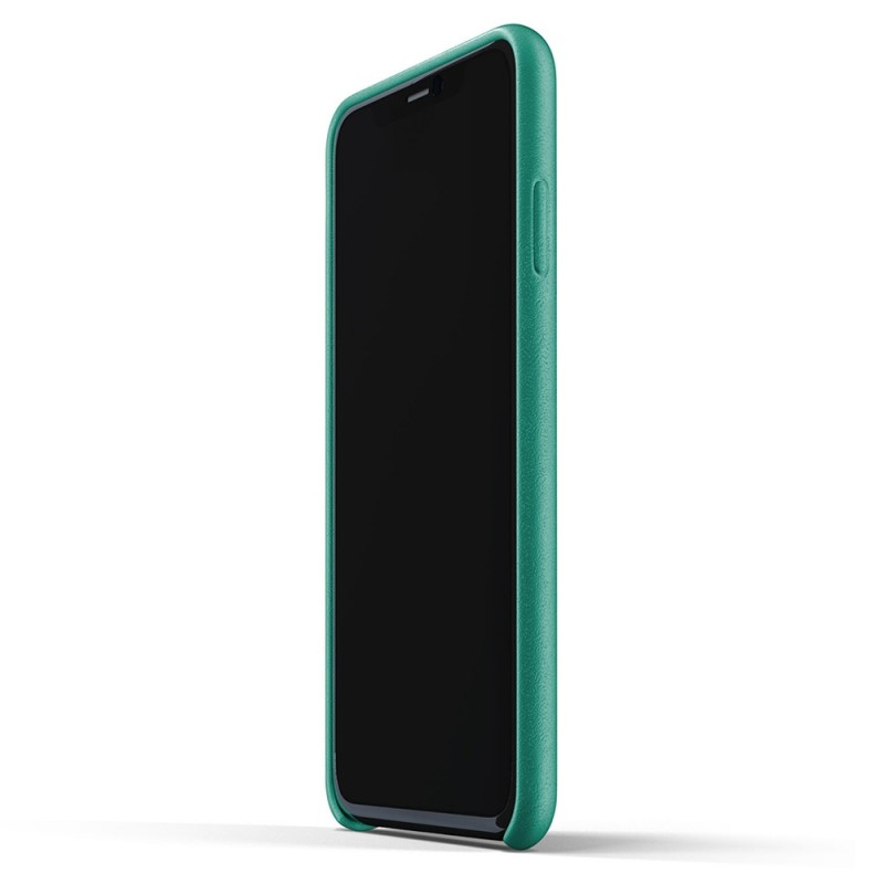 Mujjo Full Leather Case iPhone 11 Pro Max alpine green - 4
