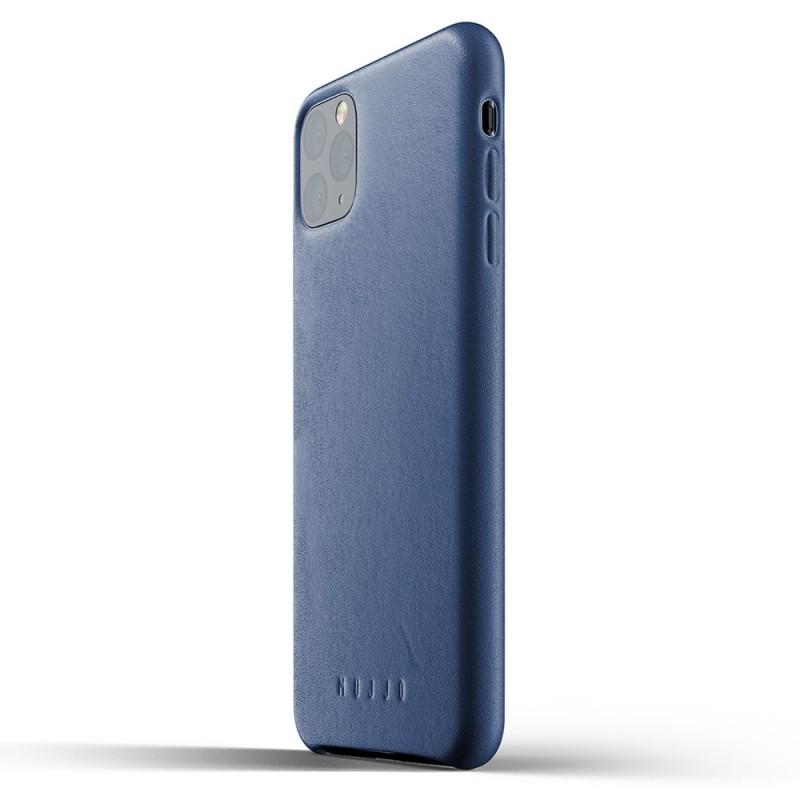 Mujjo Full Leather Case iPhone 11 Pro Max monaco blue - 3