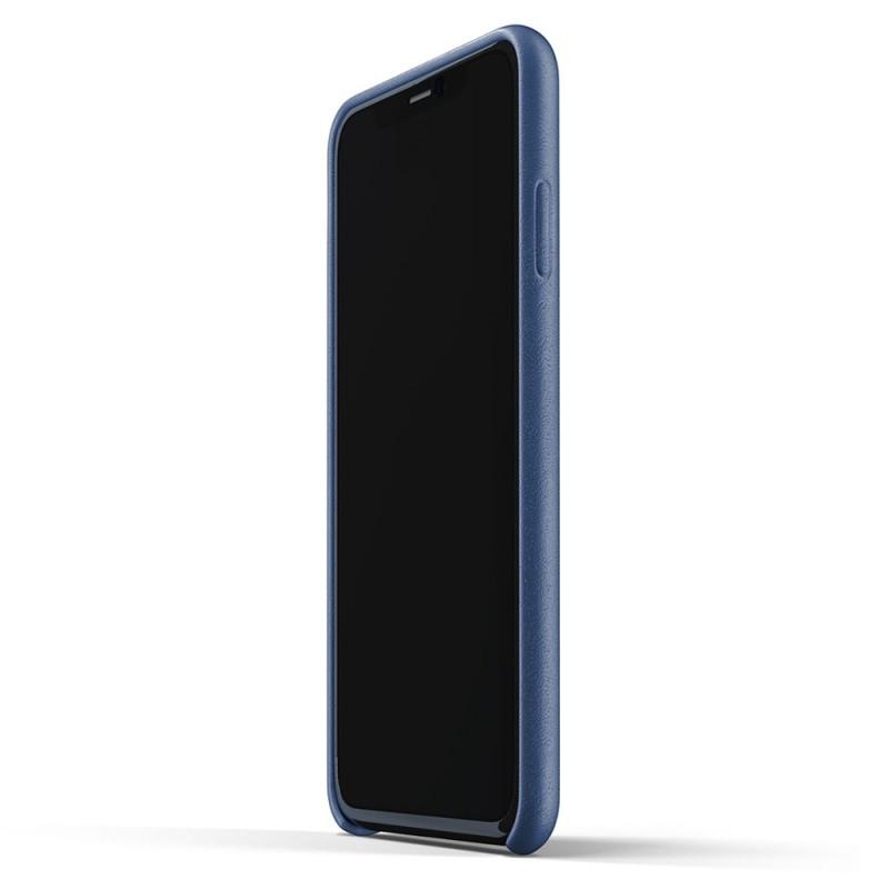 Mujjo Full Leather Case iPhone 11 Pro Max monaco blue - 4