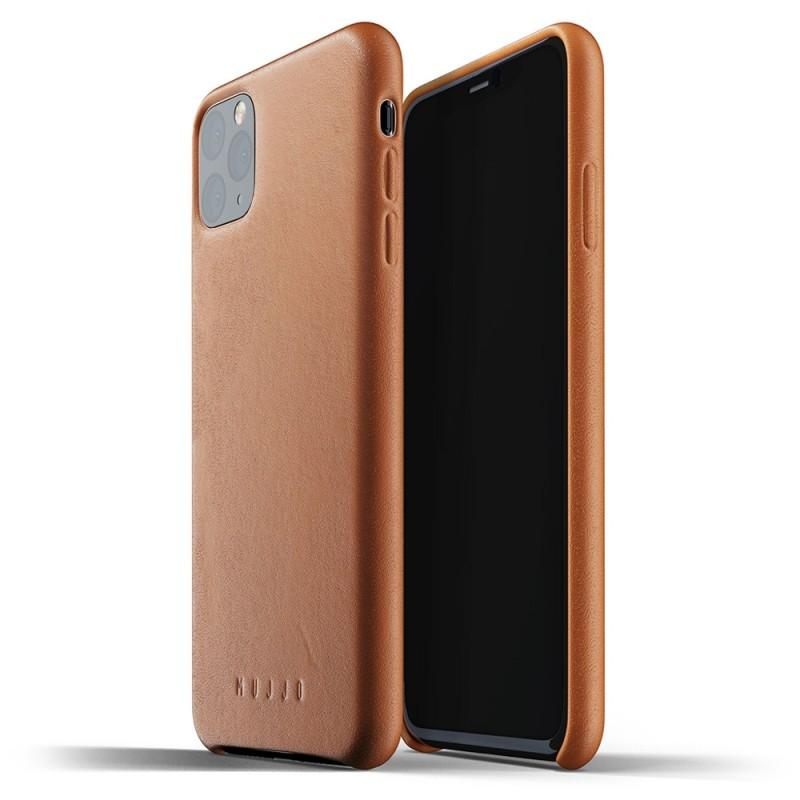 Mujjo Full Leather Case iPhone 11 Pro Max bruin - 1