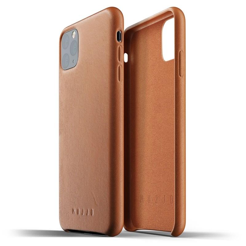 Mujjo Full Leather Case iPhone 11 Pro Max bruin - 2