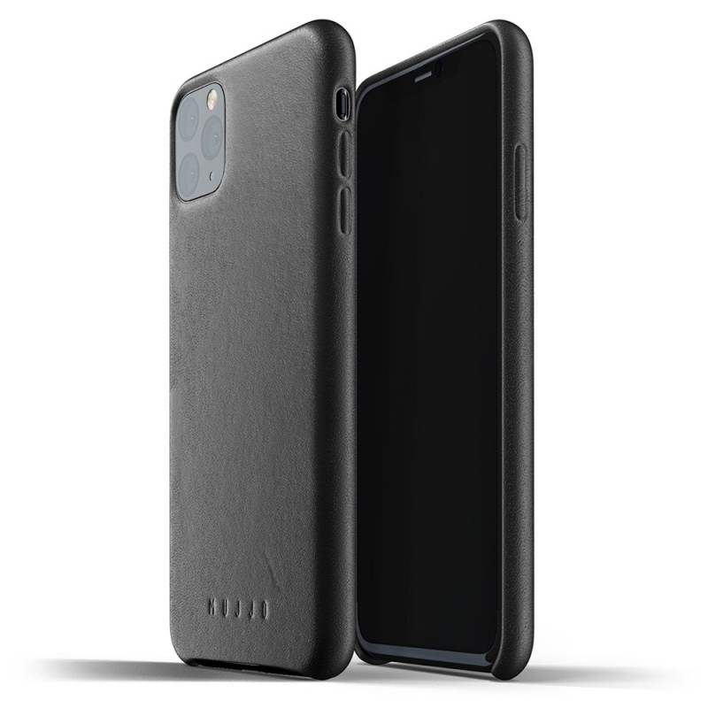 Mujjo Full Leather Case iPhone 11 Pro Max zwart - 1