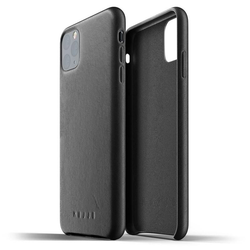 Mujjo Full Leather Case iPhone 11 Pro Max zwart - 2