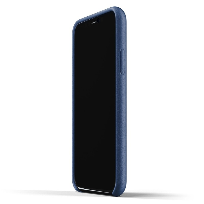Mujjo Full Leather Case iPhone 11 Pro monaco blue - 4