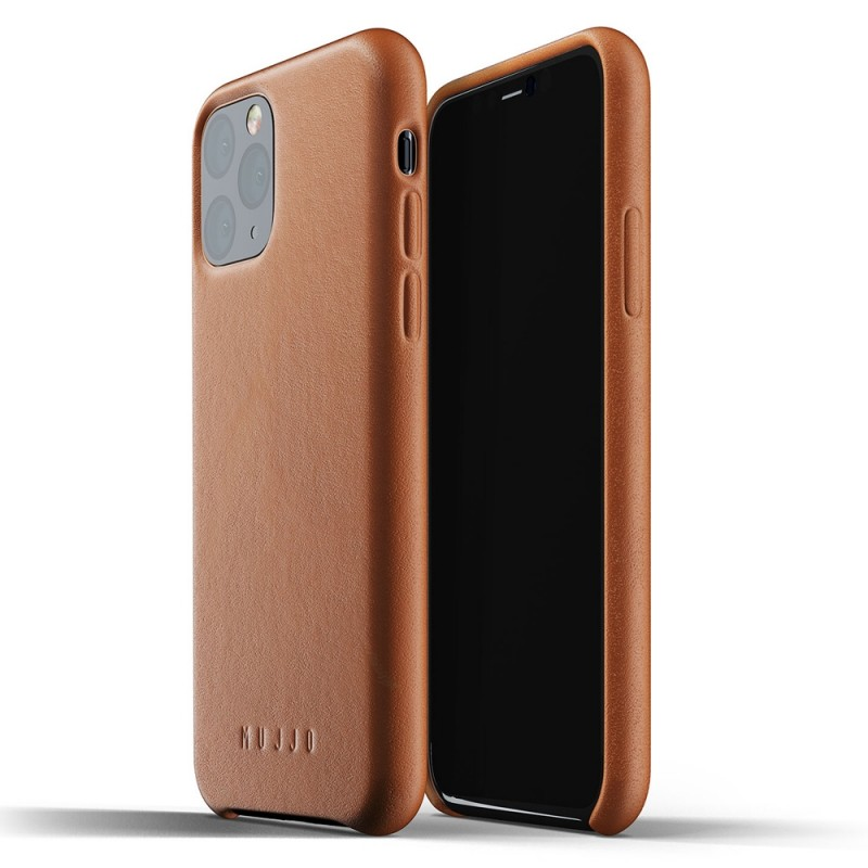 Mujjo Full Leather Case iPhone 11 Pro bruin - 1