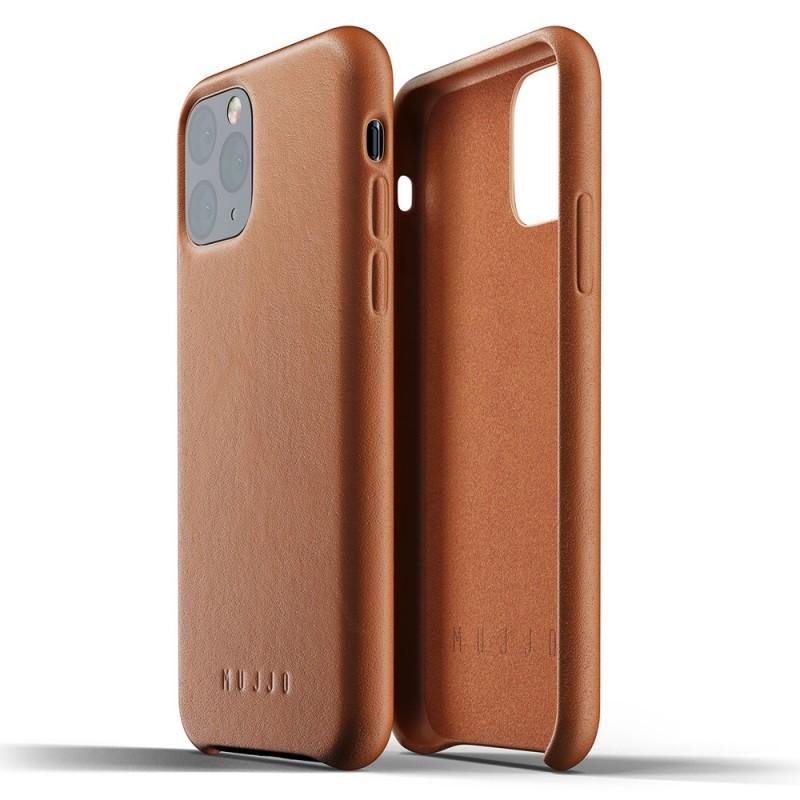 Mujjo Full Leather Case iPhone 11 Pro bruin - 2