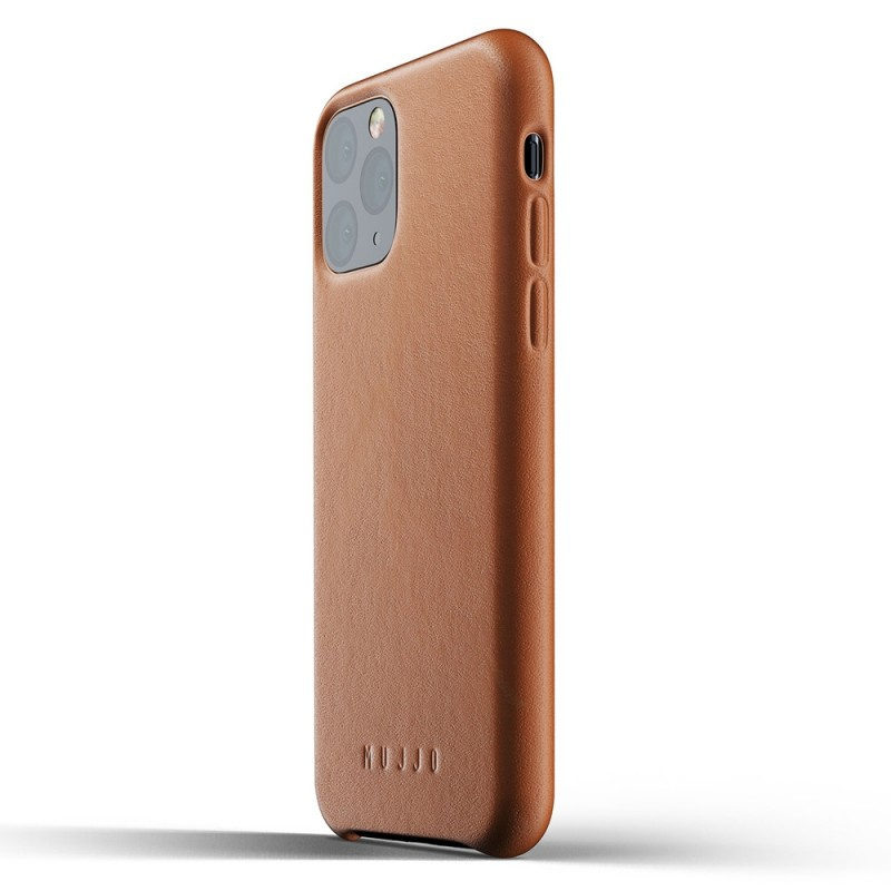 Mujjo Full Leather Case iPhone 11 Pro bruin - 3
