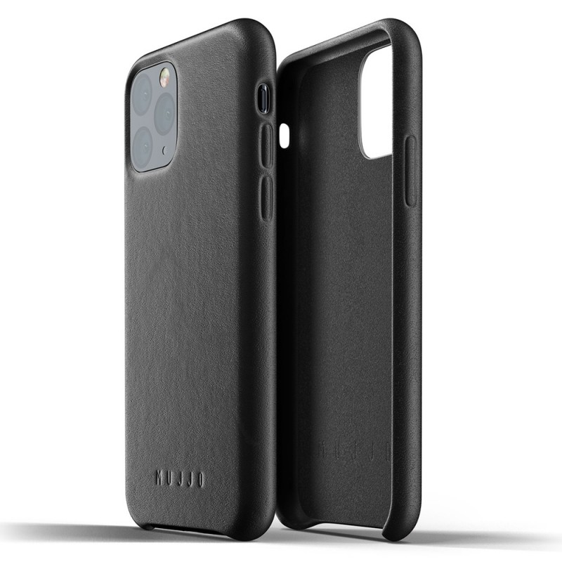 Mujjo Full Leather Case iPhone 11 Pro zwart - 2