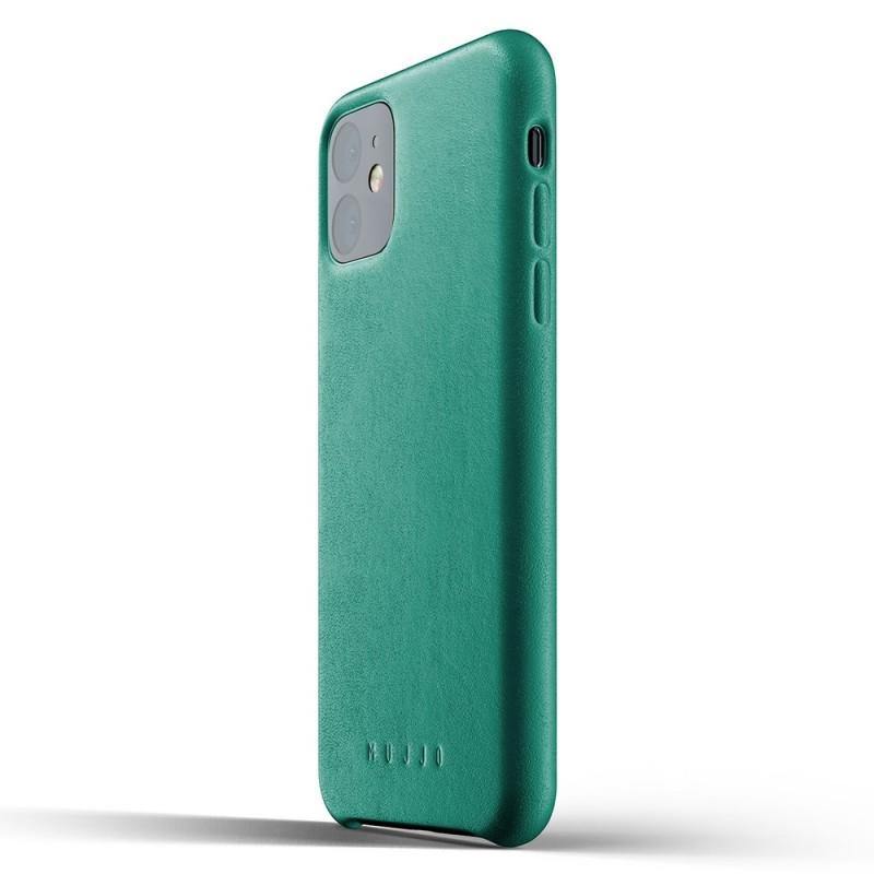 Mujjo Full Leather Case iPhone 11 alpine green - 3