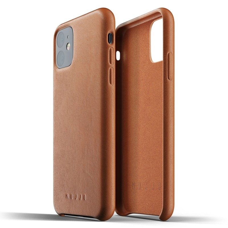 Mujjo Full Leather Case iPhone 11 bruin - 2