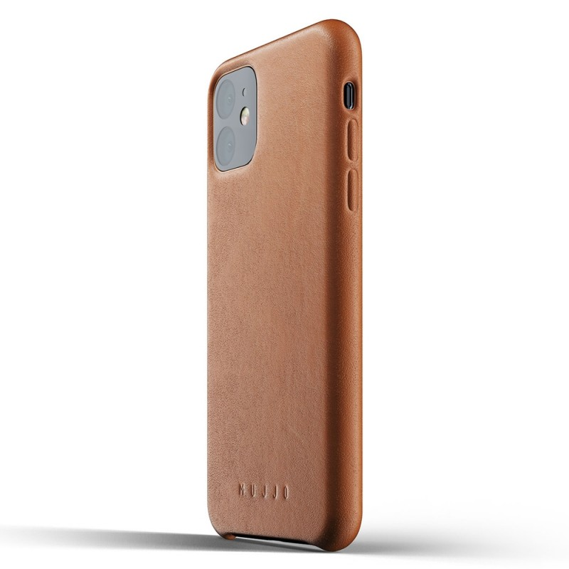Mujjo Full Leather Case iPhone 11 bruin - 3