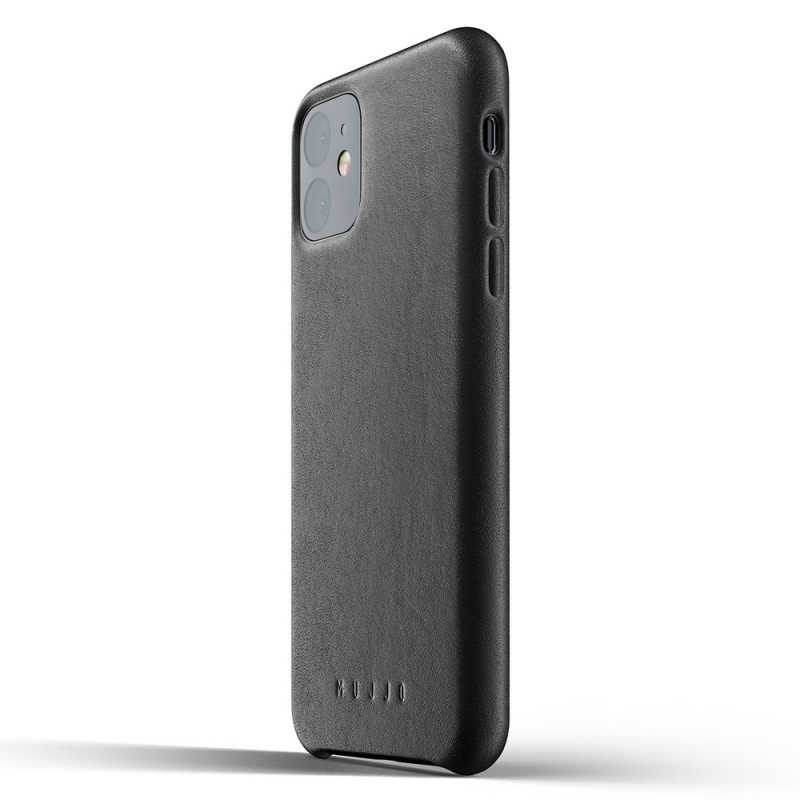Mujjo Full Leather Case iPhone 11 zwart - 3