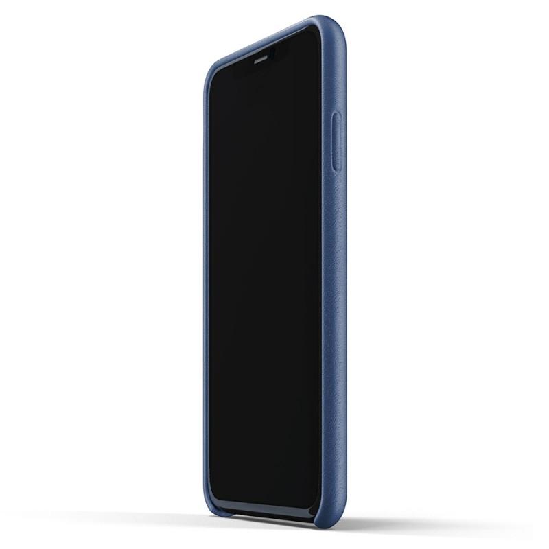 Mujjo Full Leather Wallet iPhone 11 Pro Max monaco blue - 4