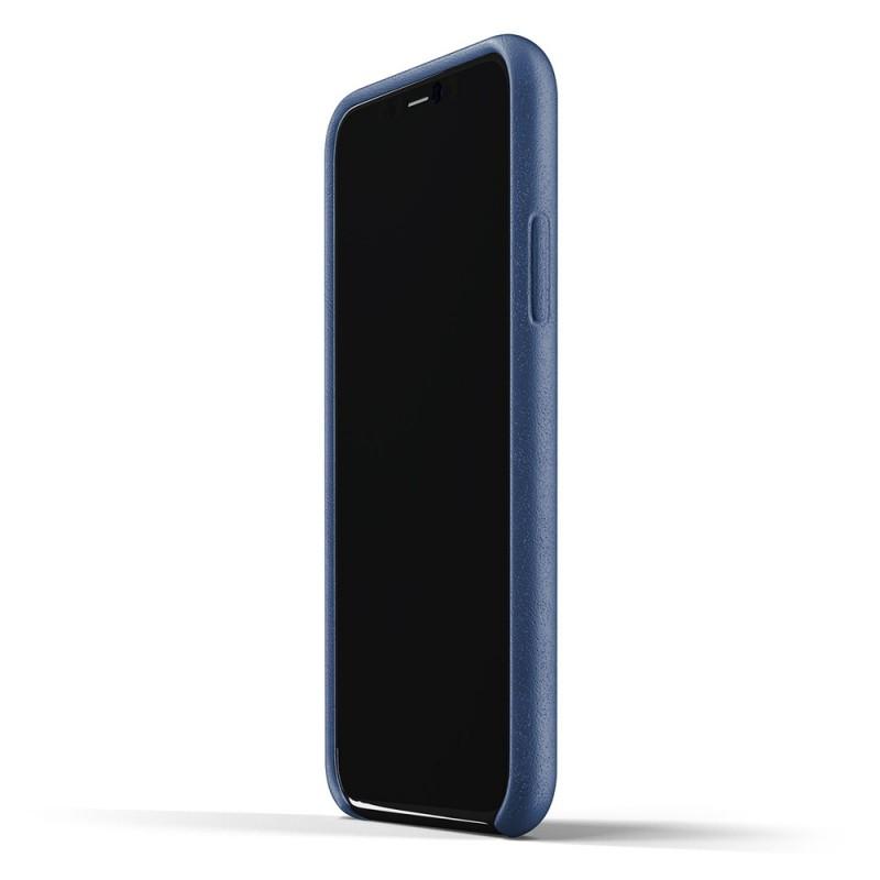 Mujjo Full Leather Wallet iPhone 11 Pro monaco blue - 4
